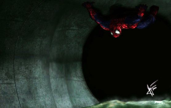 The Amazing Spiderman - Crawling in the sewers by v-p-j