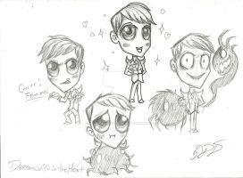 Don't Starve: Ummmm.... Chibi....Maxwell......... by DreamWithinTheHeart
