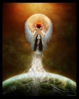 Goddess Isis by arawyndesigns