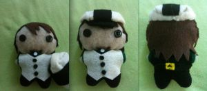 Tiger and Bunny: Kotetsu Plushie by CheesyHipster
