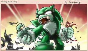Scourge the Werehog by Frankyding90