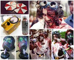 Zombie Walk 2012 by ryoshi-un