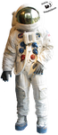 Cut-out stock PNG 04 - US astronaut by Momotte2stocks