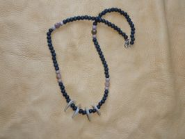 Lynx claw necklace by lupagreenwolf