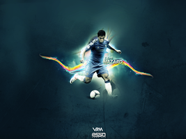 Eden Hazard WALLPAPER // VKM // Esso ART by VissyKM2