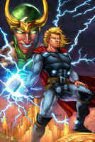 THOR Colored by danielpicciotto