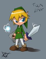 Toon Link by SukodenX