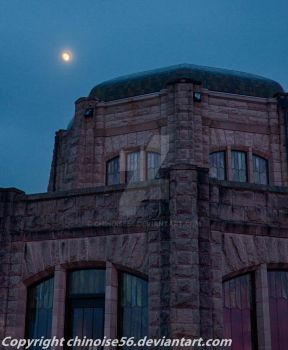 Moon over Crown Point.jpg by chinoise56