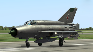 MiG-21 Fishbed #2 by BillyM12345