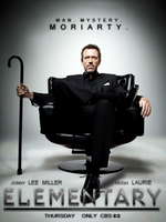 Elementary - Moriarty (Hugh Laurie - Fan Poster) by SuperDude001
