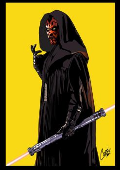 darth maul by jorgecopo