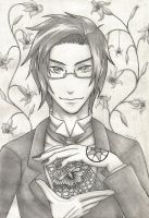 Claude Faustus- Demon of the Spider by ZaraDraws