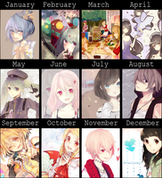 2014 Art Summary by AmaiCandy