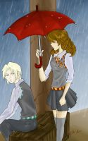 In the Rain by konoreiatsu