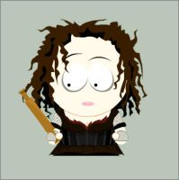 Mrs. Lovett in South Park by Onizzuka
