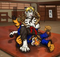 Tiger Style Revenge! by Foot-paws