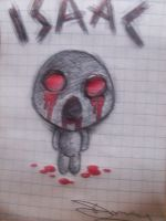 Eyesless Isaac (The Binding of Isaac) by Deceitful96