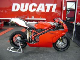 Ducati 999R at Laguna Seca by Partywave