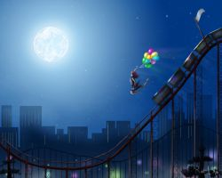Last Ride Of The Day by orochi-rob