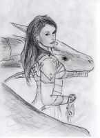 Lucia the Dragonrider by rawis007