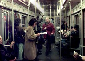 Milan Subway 1999 by lancephoto
