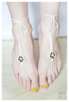 Fox Paw Barefoot Sandals by psihoze
