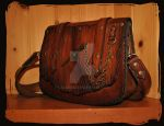 Shoulder Bag Bark 1 by Lagueuse
