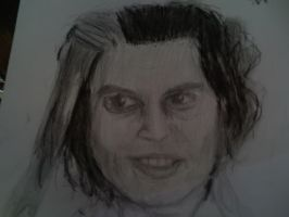 Sweeney Todd drawing......... by TheMustacheWarrior