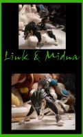Link and Midna Figure by mikuko