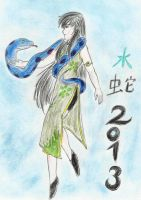 Happy New Year of the Snake colo by Aioros-sama