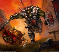 Warhammer: Invasion - Get Outta My Way! by jbcasacop