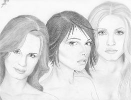The Cullen Women by RoseOnyxis
