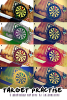 Target Practise actions by kalinaicons