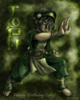 Toph- For Cody by CallistoHime