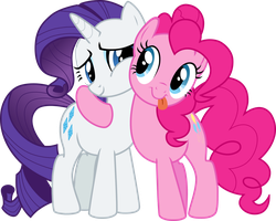 Rarity And Pinkie Pie by SarBer11