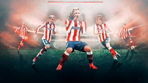 Antoine Griezmann Wallpaper by dreamgraphicss