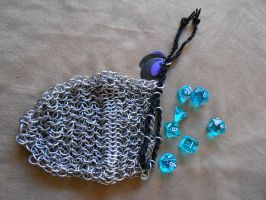 Dice Bags-FOR SALE by ChainMailleX