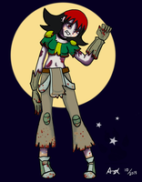 OSR Zombies: Molly by RedVioletPanda