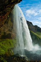 Waterfall Seljalandfoss by amrodel