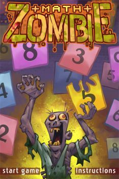 Math Zombie - iphone game by soldado