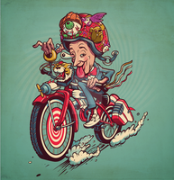 PeeWee Fink by donovanalex