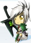 LoL - Chibi Riven by NightGreenMagician