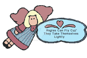 Country Folk Graphics 1999 | Angles Can Fly |Sayin by DanaHaynes