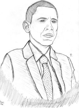 Obama by Puppeteerz
