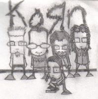 KoRn by PurplePotatoeMonkey