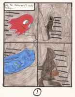 Clever Belovers in the World of Pac comic pg 1 by Magic-Kristina-KW