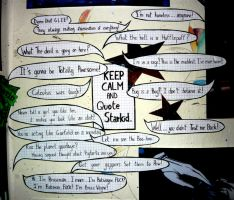 Keep Calm and Quote StarKid by apdrea
