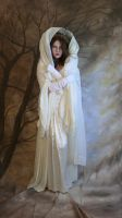 lady winter hooded by magikstock