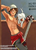 Shinobi Illustrated -- Kiba by The-Z