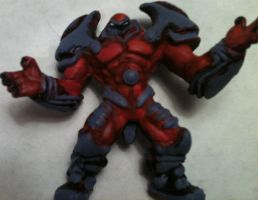 Mini Onslaught Heroclix Sculpt by ComicMaster1
